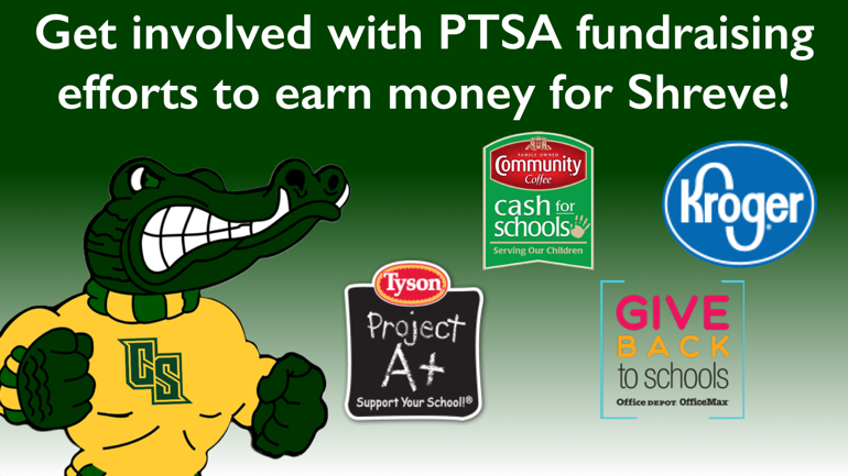 Click here for more information on PTSA fundraising projects